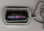 CONFESSIONS TOUR - OFFICIAL NECKLACE DOG TAG